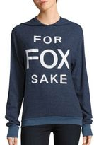 Wildfox Couture Long Sleeve Hooded Pullover