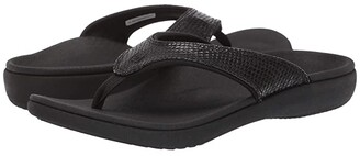Spenco Yumi 2 Snake (Black) Women's Sandals