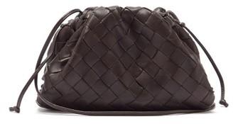 Bottega Veneta Pouch Small Intrecciato-leather Clutch - Brown