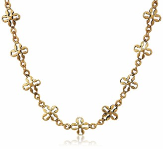 Alex and Ani Mini Floral Chain 18 in. Magnetic Necklace RG