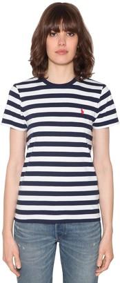 Polo Ralph Lauren Striped Cotton Jersey T-shirt