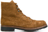 Polo Ralph Lauren lace-up boots