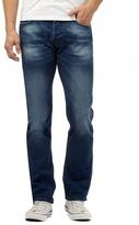 Voi Dark Blue Mid Wash Regular Fit Jeans