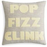 "Alexandra Ferguson Pop Fizz Clink Decorative Pillow, 16"" x 16"""