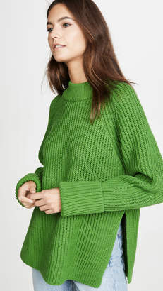 Club Monaco Oversized Crew Neck Sweater