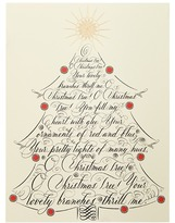 O Christmas Tree Cards
