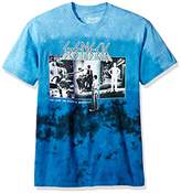 Liquid Blue Unisex-Adults Genesis the Lamb Lies Down Tie Dye Short Sleeve T-Shirt