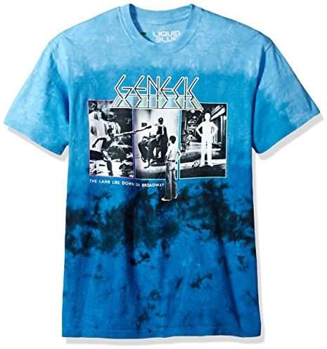 Liquid Blue Unisex-Adult's Genesis The Lamb Lies Down Tie Dye Short Sleeve T-Shirt