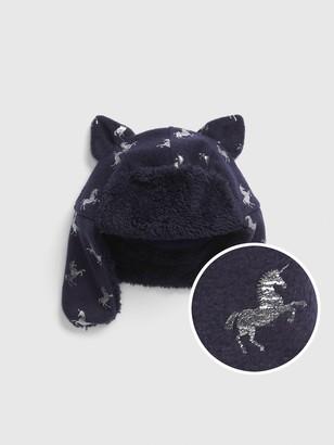 Gap Toddler Unicorn Trapper Hat