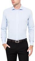 Geoffrey Beene Anissa Check Stretch Collar Body Fit Shirt