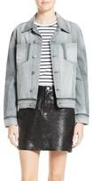Frame Women's Nouveau Le Mix Denim Jacket