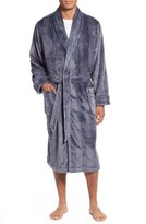 Nordstrom Men's Glen Check Fleece Robe