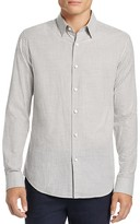 Theory Sylvain Gingham Slim Fit Button Down Shirt