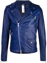 Giorgio Brato fitted biker jacket