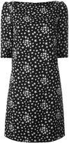 Saint Laurent star print shift dress - women - Silk/Cotton/Viscose - 36