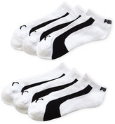 Puma 6-Pack Stripe & Logo Low Cut Socks