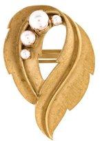 Dolce & Gabbana Faux Pearl Brooch