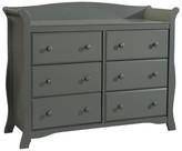 Stork Craft Storkcraft Avalon 6 Drawer Dresser