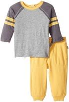 Splendid Littles Long Sleeve Football Tee and Pants Set Boy's Active Sets