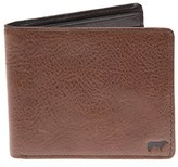 Will Leather Goods Men's 'Barnard' Wallet - Brown