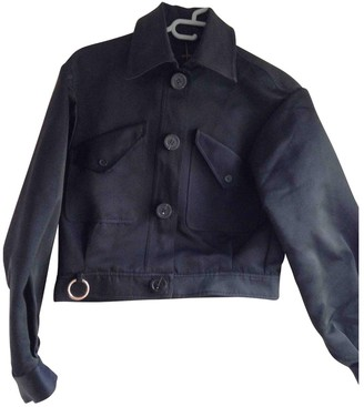 Ellery Navy Cotton Jacket for Women