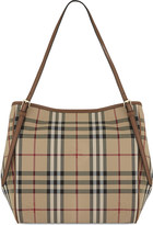Burberry Canterbury small canvas tote