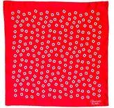 Charvet Printed Silk Pocket Square
