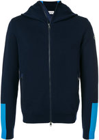 Moncler colour block padded back hoodie