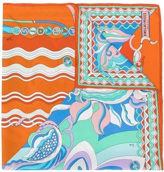 Emilio Pucci Badea print scarf