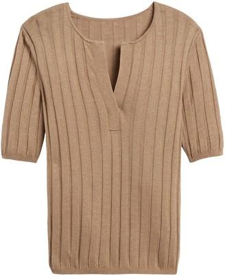 Banana Republic Silk Cashmere Sweater Top