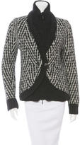 Chanel Mohair & Wool-Blend Layered Cardigan