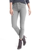 Gap STRETCH 1969 sateen true skinny ankle jeans