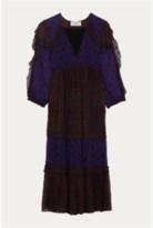 BA&SH Gypsie Dress In Purple - 0 - UK8