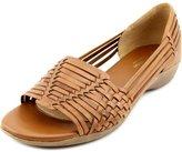 Naturalizer Nerissa Women US 11 Tan Wedge Sandal