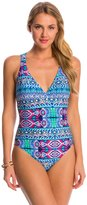 LaBlanca La Blanca Swimwear Global Perspective Crossback Strappy One Piece Swimsuit 8148670