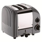 Dualit Cobble-Gray NewGen 2-Sllice Toaster