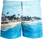 Orlebar Brown Bulldog photographic-print swim shorts