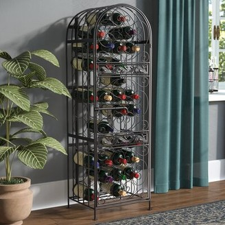 Charlton Homeâ® Verdi 45 Bottle Floor Wine Bottle Rack Charlton HomeA