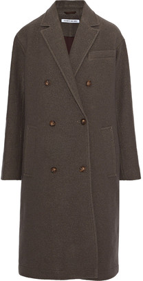 Elizabeth and James Timothy Double-breasted Wool Coat