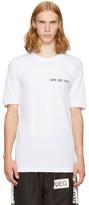 Ueg White foreign T-shirt
