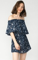 MUMU Casita Mini Dress ~ Blue's Traveler Cloud