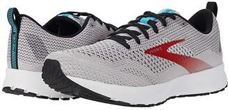 Brooks Revel 4 (Grey/Black/Capri) Men's Running Shoes