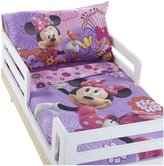 Disney Minnie Mouse 4 pc Toddler Set - Fluttery Friends Pink