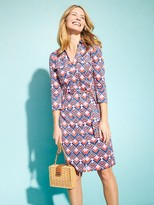 J.Mclaughlin Brynn Dress In Mini Diamond Line