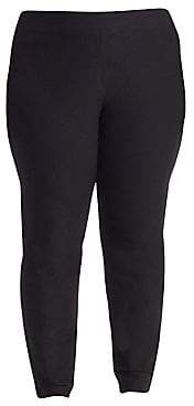 Eileen Fisher Eileen Fisher, Plus Size Women's System Slim Stretch-Crepe Ankle Pants