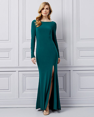 Le Château Knit Open Back Gown
