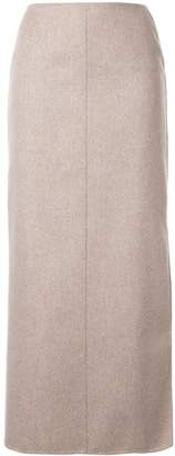 Agnona fitted midi skirt