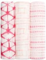 Aden Anais aden + anais Berry Shibori Swaddles/Set of 3