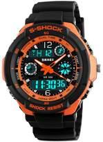 Mastop Multifunction Sport Watch Men's Digital Shock Resistant Quartz Alarm Waterproof Wristwatches