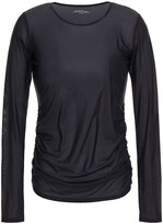 Thumbnail for your product : Lanston Aiden Ruched Jersey Top